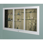 Claridge Products - 390 Large Door Recessed Display Case