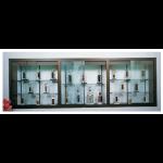 Claridge Products - 370 Recessed Display Case - BUILD Series