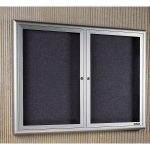 Claridge Products - Paramount Cabinet with Hinged Glass Doors