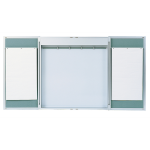 Claridge Products - Premiere Series 209 Aluminum Lecture Cabinets