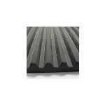 Hanna Rubber Company - Solid Rubber Ribbed Vibration Pad