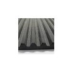 Hanna Rubber Company - Solid Rubber Ribbed Vibration Pad