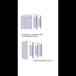 Flush Metal Partitions, LLC - Showers