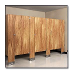 Flush Metal Partitions, LLC - Flushart Plastic Laminate Toilet Partitions