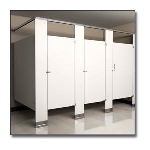 Flush Metal Partitions, LLC - Flushite Phenolic Toilet Partitions