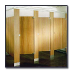 Flush Metal Partitions, LLC - Flushite Plastic Laminate Toilet Partitions