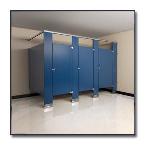 Flush Metal Partitions, LLC - Flushite Powder Coated Toilet Partitions