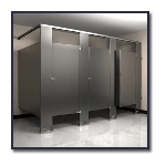 Flush Metal Partitions, LLC - Flushite Stainless Steel Toilet Partitions