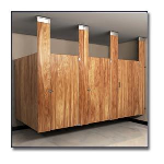 Flush Metal Partitions, LLC - Flushung Plastic Laminate Toilet Partitions