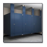 Flush Metal Partitions, LLC - Flushung Powder Coated Toilet Partitions