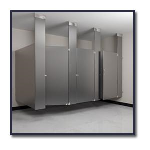 Flush Metal Partitions, LLC - Flushung Stainless Steel Toilet Partitions