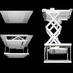 Vutec Corporation - Scissor Ceiling Projector Lift