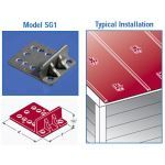 East Coast Roof Specialties - Model SG-1 Ice-Brakes Metal Snow Guards for Metal Roofs