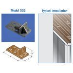 East Coast Roof Specialties - Model SG-2 Ice-Brakes Metal Snow Guards for Metal Roofs