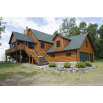Cedar Creek LLC - Norway Hewn Log Siding - Country Hewn