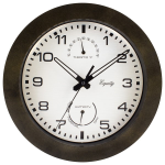 La Crosse Technology Ltd - 29005 10 inch Indoor/Outdoor Wall Clock