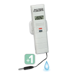 La Crosse Technology - Add-On Temp/Humidity Sensor with Standard Wet Temp Probe for La Crosse Alerts Mobile System