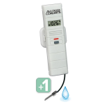 La Crosse Technology - Add-On Temperature and Humidity Sensor with Threaded Wet Temperature Probe