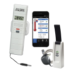 La Crosse Technology - Temperature and Humidity Monitor and Alert System with Standard Wet Temperature Probe