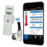 La Crosse Technology - Temperature and Humidity Monitor and Alert System