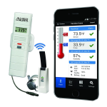 La Crosse Technology - Temperature and Humidity Monitoring and Alert System with Dry Temperature Probe