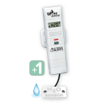 La Crosse Technology - Add-On Remote Water Leak Detector with Temp/Humidity and Alerts for La Crosse Alerts Mobile