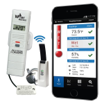 La Crosse Technology - Remote Water Leak Detector with Temperature and Humidity and Early Warning Alerts