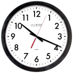 La Crosse Technology - 404-2636 14 inch Commercial Wall Clock