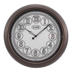 La Crosse Technology - 403-3246BR 18 inch Indoor/Outdoor Lighted Dial Clock