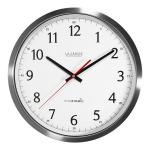La Crosse Technology - 404-1235UA-SS 14 inch UltrAtomic - Analog Wall Clock