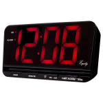 La Crosse Technology - 30401 3 inch Jumbo LED Alarm Clock
