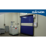 Raynor Garage Doors - RapidCoil RC100 Gravity Operated, High Speed Fabric Doors