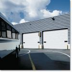 Raynor Garage Doors - SteelForm™ S24C Commercial Sectional Pan Garage Door