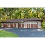 Raynor Garage Doors - RockCreeke Classic Carriage House Style Garage Door