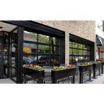 Raynor Garage Doors - AlumaView® AV300 Commercial Sectional Rail & Stile Door