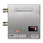 Hubbell Water Heaters - Model HX / TX Tankless Electric Water Heater