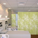 "Cube Care Company - ""It's a Snap"" Cubicle Curtains"