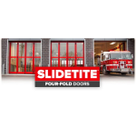 Richards-Wilcox - Slidetite™ Four-Fold Doors