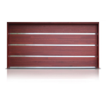 Richards-Wilcox - Contemporary Rockwood Series Sectional Garage Door