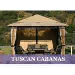 Resort Cabanas Division of Eide Industries, Inc. - Tuscan Cabana