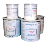 V-SEAL Concrete Sealers - Industra-Coat Epoxy & Urethane Floor Coating System - Complete Kit-Gloss