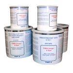 V-SEAL Concrete Sealers - Industra-Coat Epoxy & Urethane Floor Coating System - Complete Kit-Satin/Matte