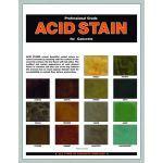 V-SEAL Concrete Sealers - Acid Stain