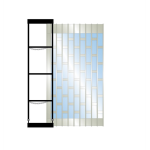 Dynamic Closures Corporation - EZ Series Security Grilles - EZ 525 CS