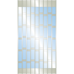 Dynamic Closures Corporation - Slim Line Series Security Grilles - SL 12 CS