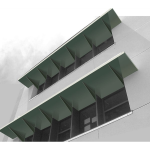 MASA Architectural Canopies - Alumiframe Aluminum Metal Awning System, Roll Formed Aluminum & Custom Architectural Canopies