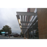 MASA Architectural Canopies - Ecoshade Building Canopies & Custom Commercial Awnings