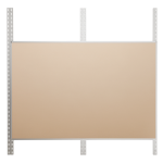 Platinum Visual Systems - Modular Trim System (MTS) Colored Cork Tackboards