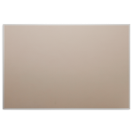 Platinum Visual Systems - Narrow Hanger Trim System (NTS) Colored Cork Tackboards