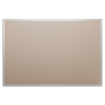 Platinum Visual Systems - Wide Profile Trim System (WTS) Colored Cork Tackboards